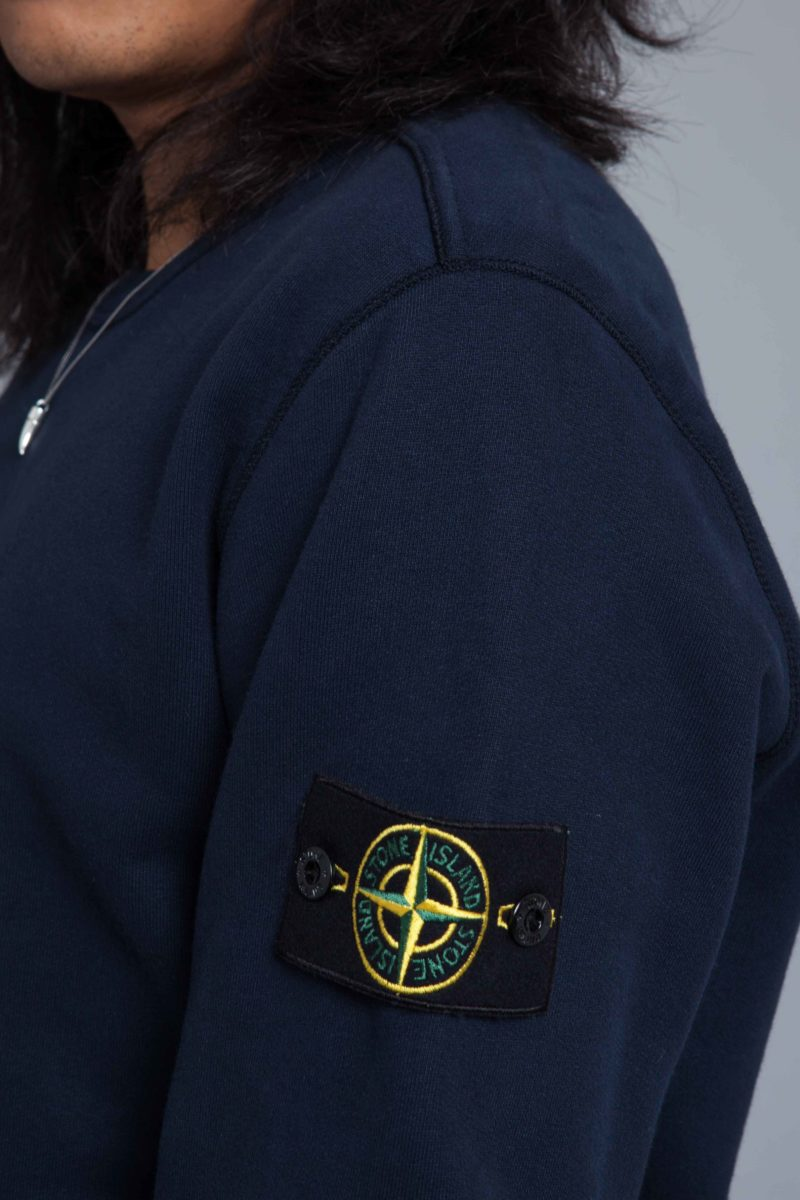 Stone Island Garment Dyed Sweat Navy