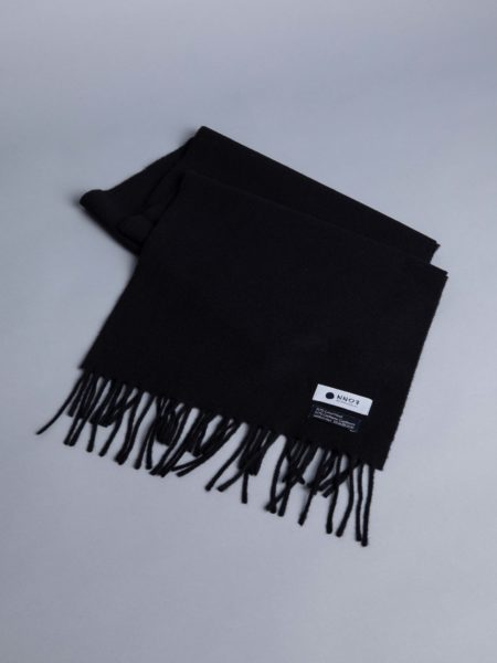 NN07 Scarf One Grey Black