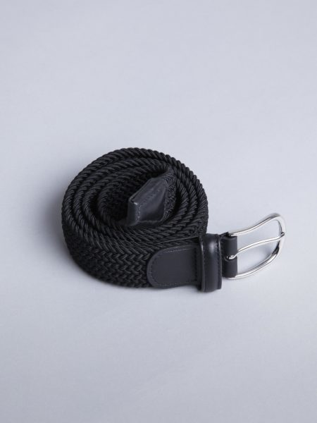 Andersons Woven Stretch Belt Black