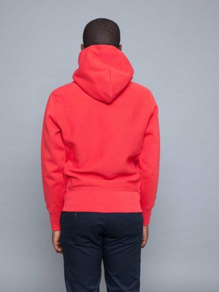 Champion Logo Hoodie Red sweatshirt