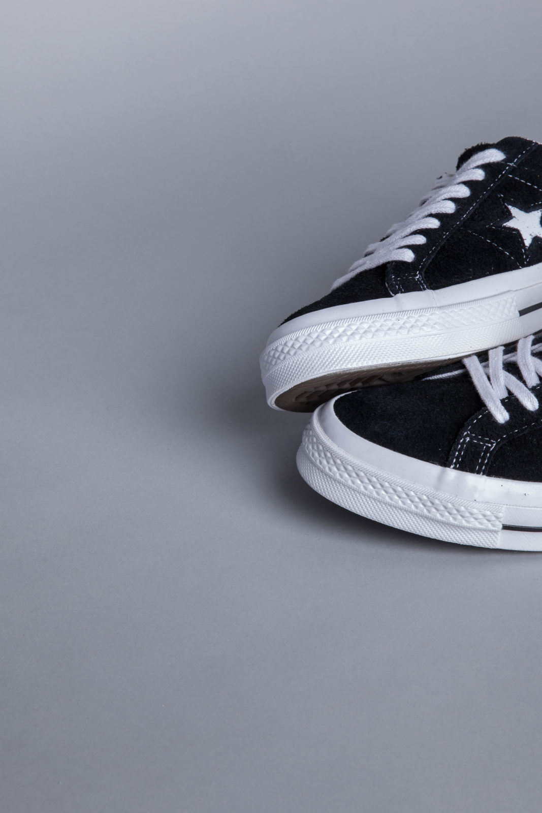 1e6a0594c48 Converse One Star OX Black Sneakers • Centreville Store