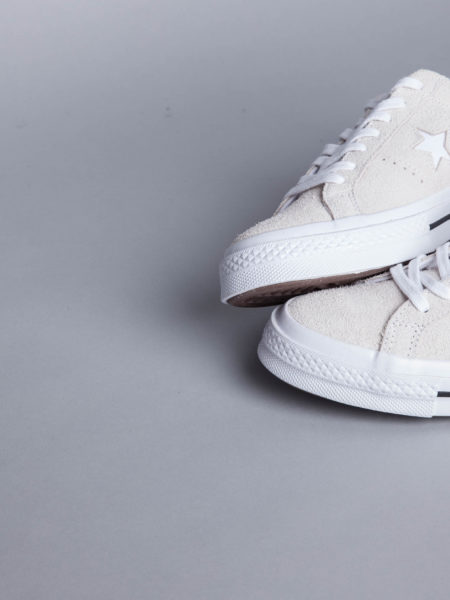Converse One Star OX White collab