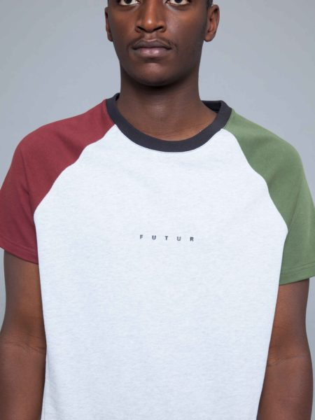 Futur Logo Raglan Tshirt Multi futur inc