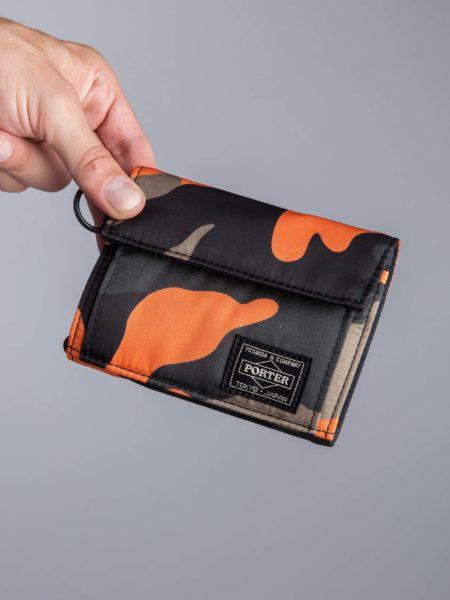 Head Porter Wallet Camo backpack