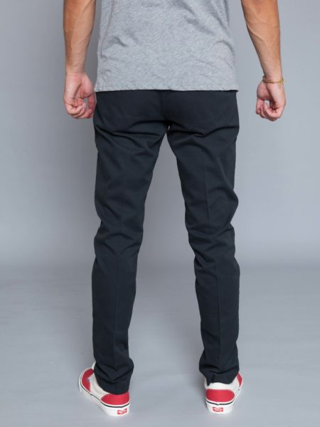NN07 Theo Chino Dark Grey denim