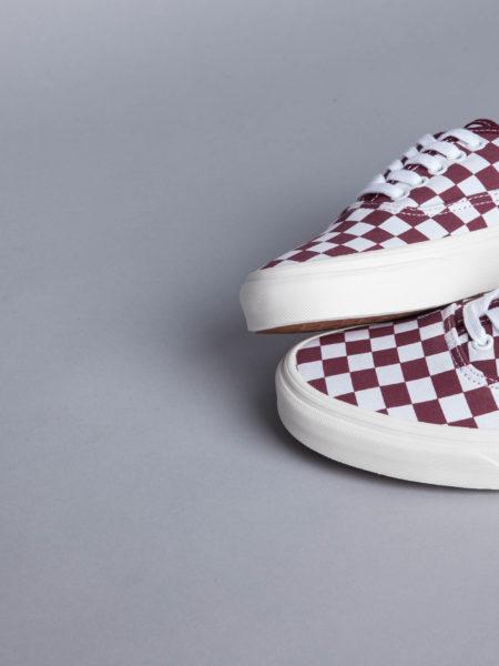 Vans Authentic Checkerboard old skool shoes
