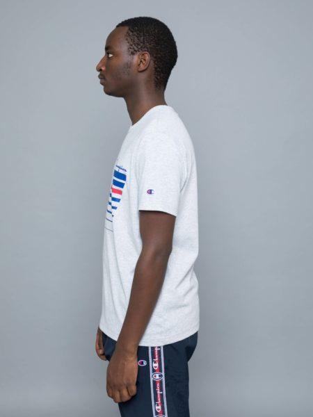 Champion Stripe T-shirt Grey