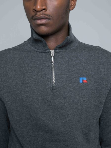 Russel Athletic Keith Zip Polo Sweat brand