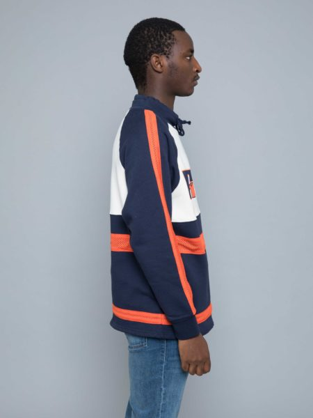 Russel Athletic Lewis Original Warm up Sweater navy