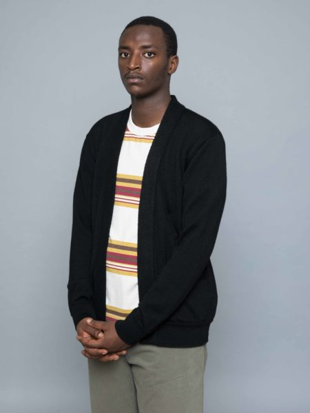 Still By Hand Buttonless Cardigan clothing