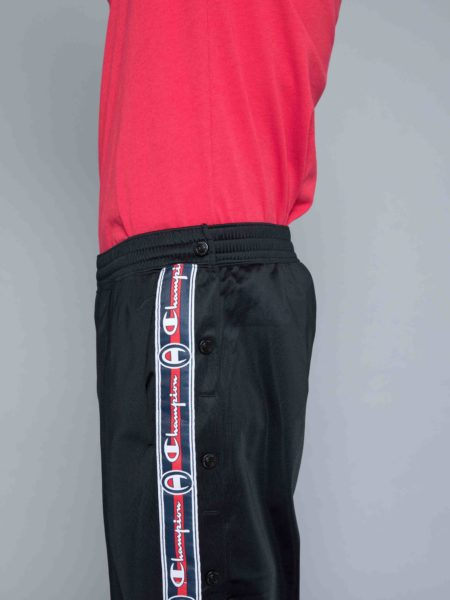 Champion Buttons Track Pants Black clothing