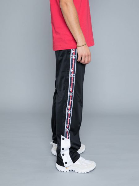 Champion Buttons Track Pants Black hoodie