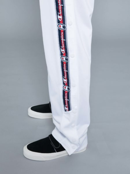 Champion Buttons Track Pants White brussels