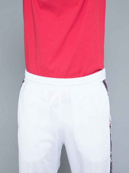Champion Buttons Track Pants White crewneck