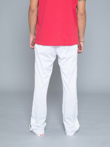 Champion Buttons Track Pants White sales