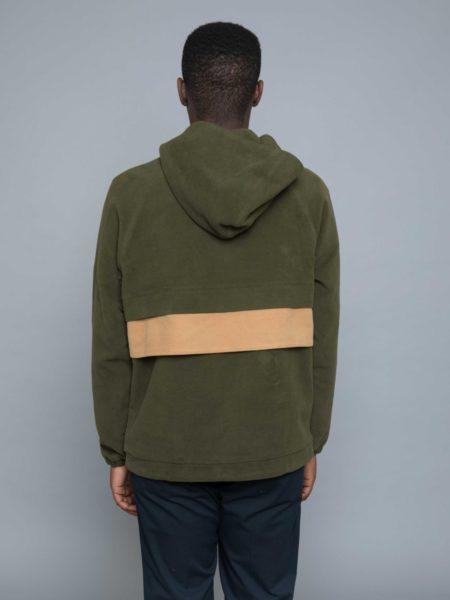 Drole de Monsieur Moleskin Popover Jacket clothing