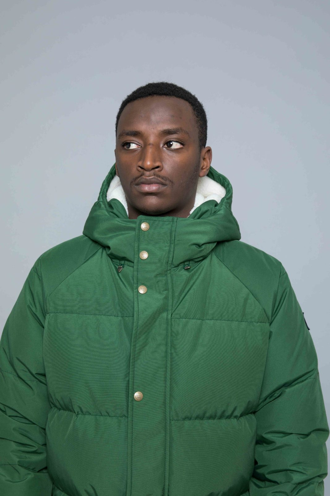 Aime Leon Dore Woolrich Hooded Down Jacket Green • Centreville Store 9ab24c12f7c6