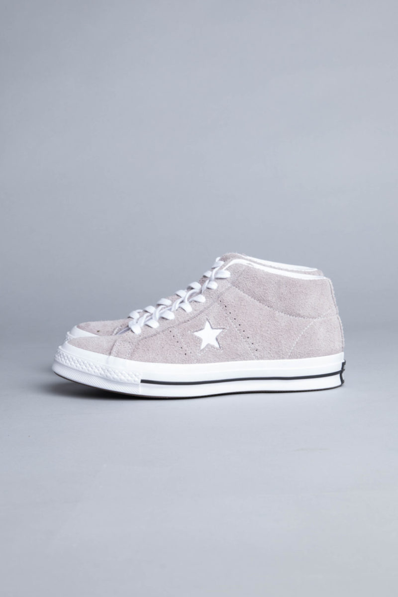 CONVERSE | All Star Grey Suede Mid Top Sneakers