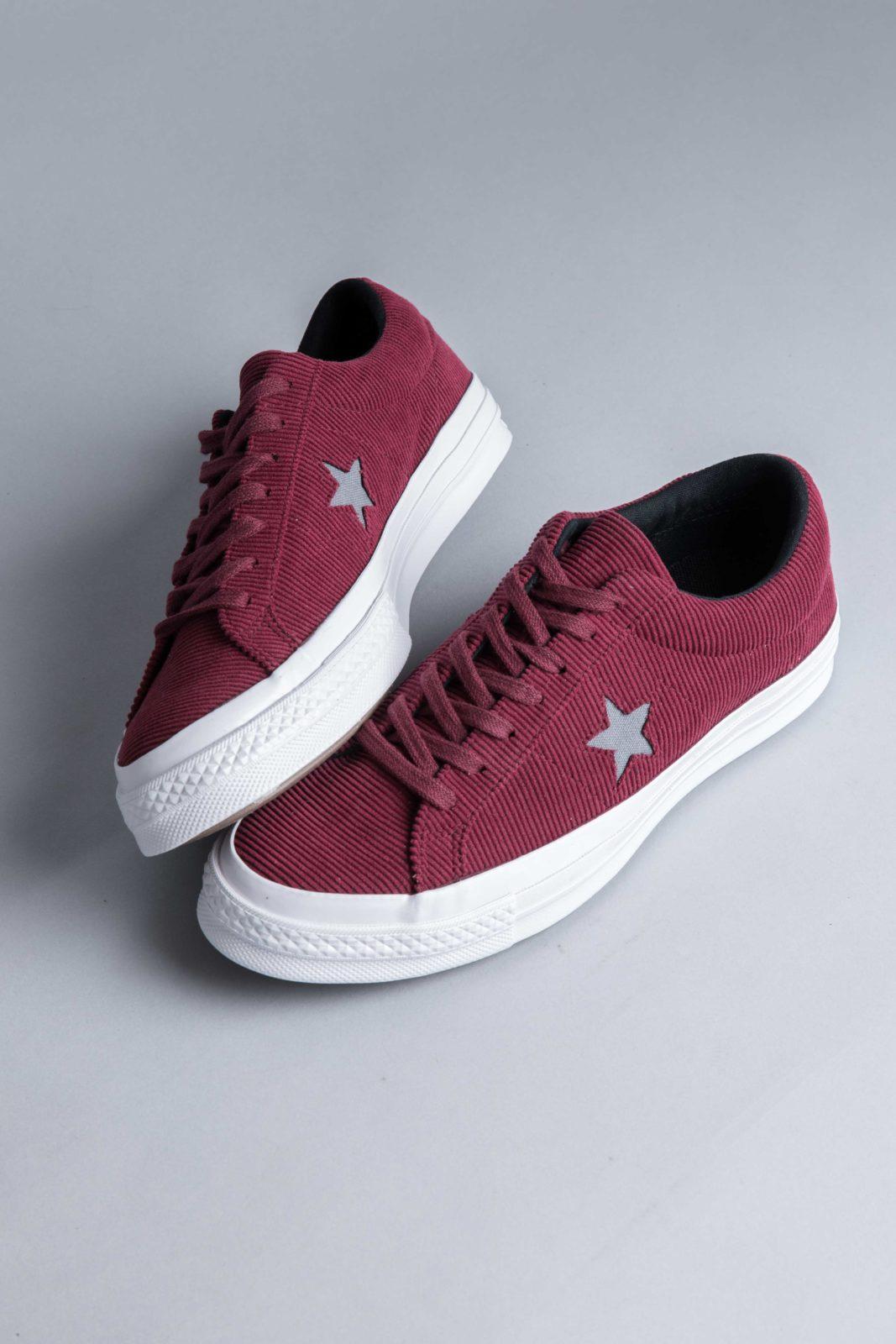 Converse One Star OX Corduroy Dark Burgundy Mason • Centreville Store b862d7f3a