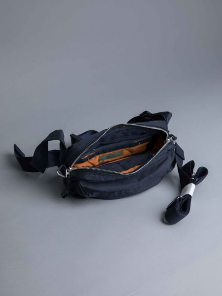 Porter Yoshida 2way Waist Bag Navy brussels
