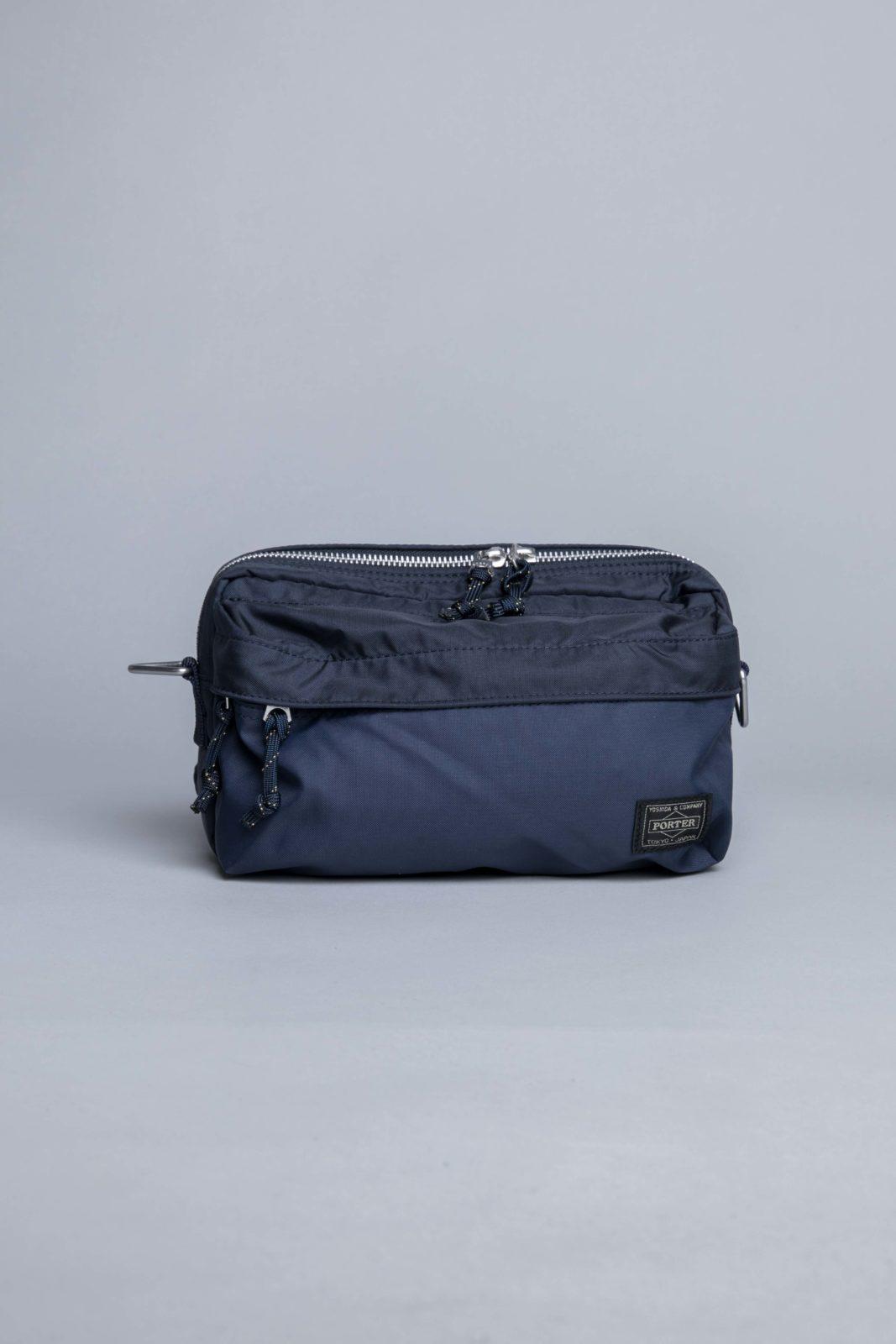 a90ff56b8ac5 Porter Yoshida 2way Waist Bag Navy • Centreville Store in Brussels