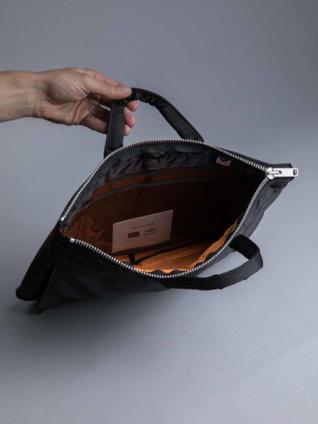 Porter Yoshida Briefcase Black brussels