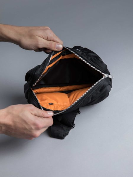 Porter Yoshida Waist Bag Black head