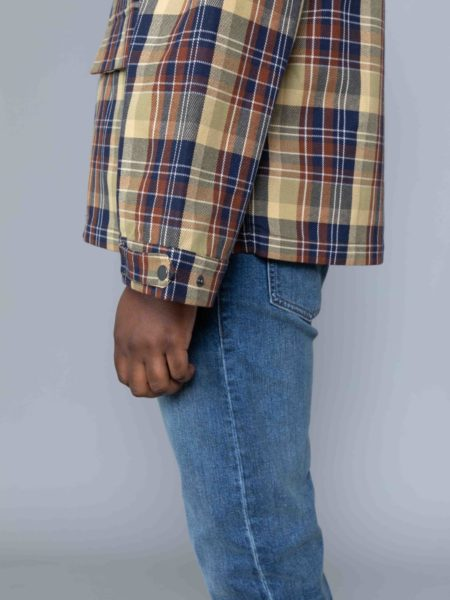 Drole de Monsieur Hooded Jacket jacquard