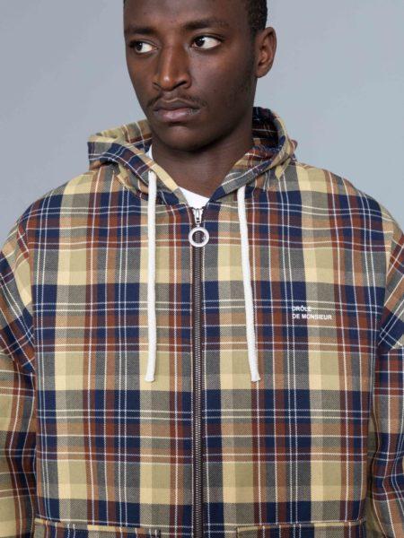 Drole de Monsieur Hooded Jacket sale
