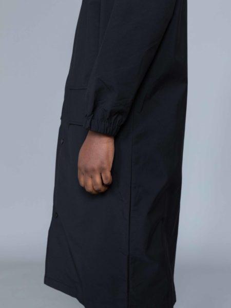 Drole de Monsieur NFPM Collared Long Raincoat DDM