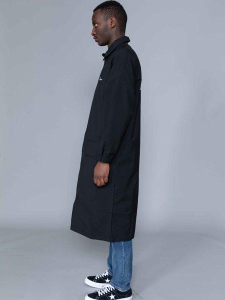 Drole de Monsieur NFPM Collared Long Raincoat shop