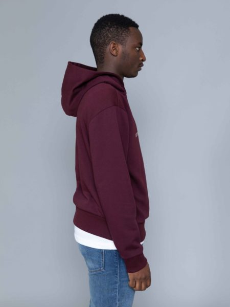 Drole de Monsieur Shaded Slogan Hoodie sale