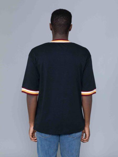 Drole de Monsieur Striped Collard T-shirt sales