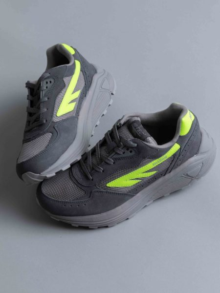 Hi-Tec Silver Shadow RGS Grey Neon Yellow sneakers