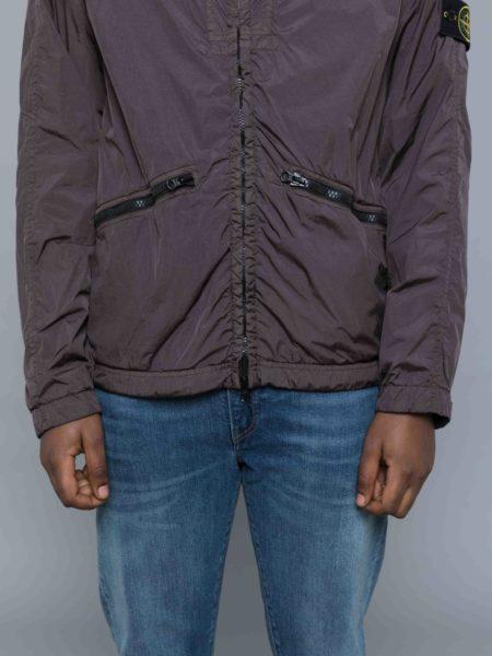 Stone Island Garment Dyed Crinkle Reps Jacket crewneck