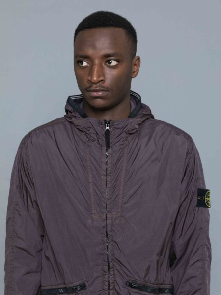 Stone Island Garment Dyed Crinkle Reps Jacket sweat