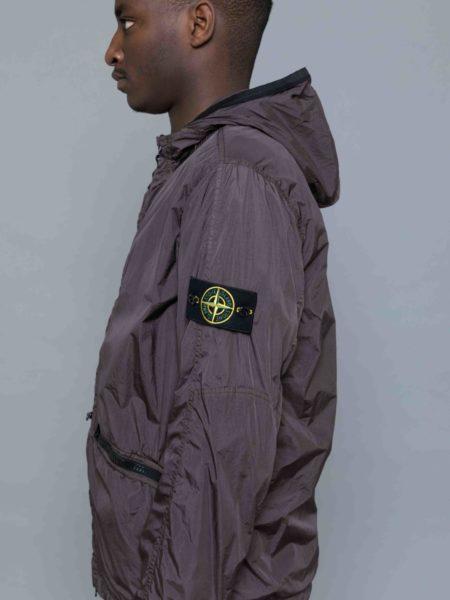 Stone Island Garment Dyed Crinkle Reps Jacket sweatshirt