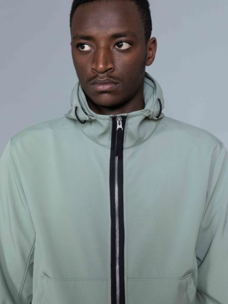 Stone Island Light Soft Shell R Jacket Sage brussels shop