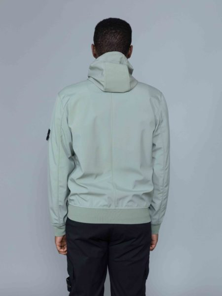 Stone Island Light Soft Shell R Jacket Sage coat