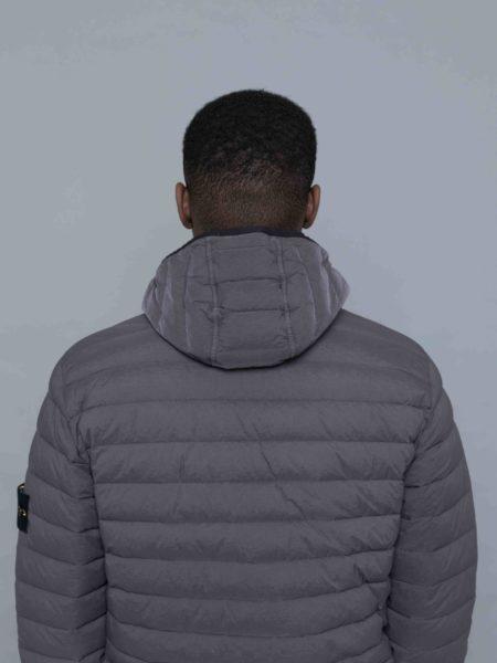 Stone Island Loom Woven Down Stretch Nylon Jacket