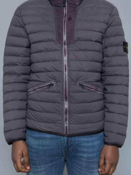 Stone Island Loom Woven Down Stretch Nylon Jacket sales