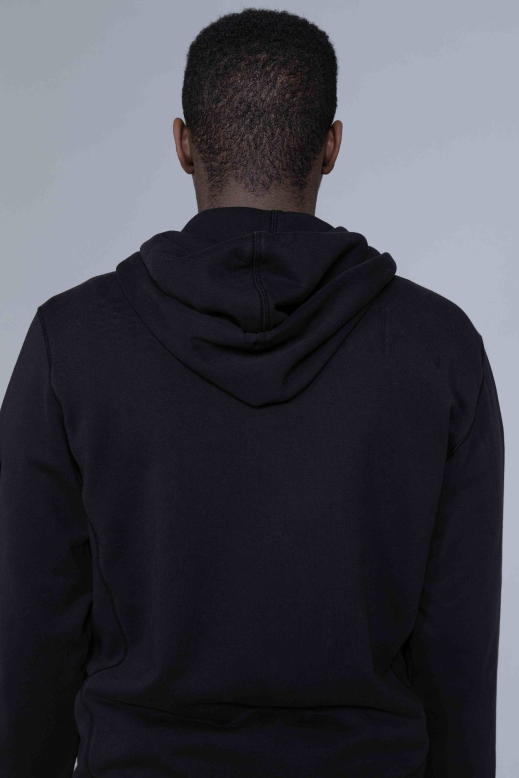 5c7b41d66f295 Stone Island Zip Hoodie Black • Centreville Store in Brussels