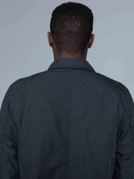 Stone Island Zip Overshirt Charcoal