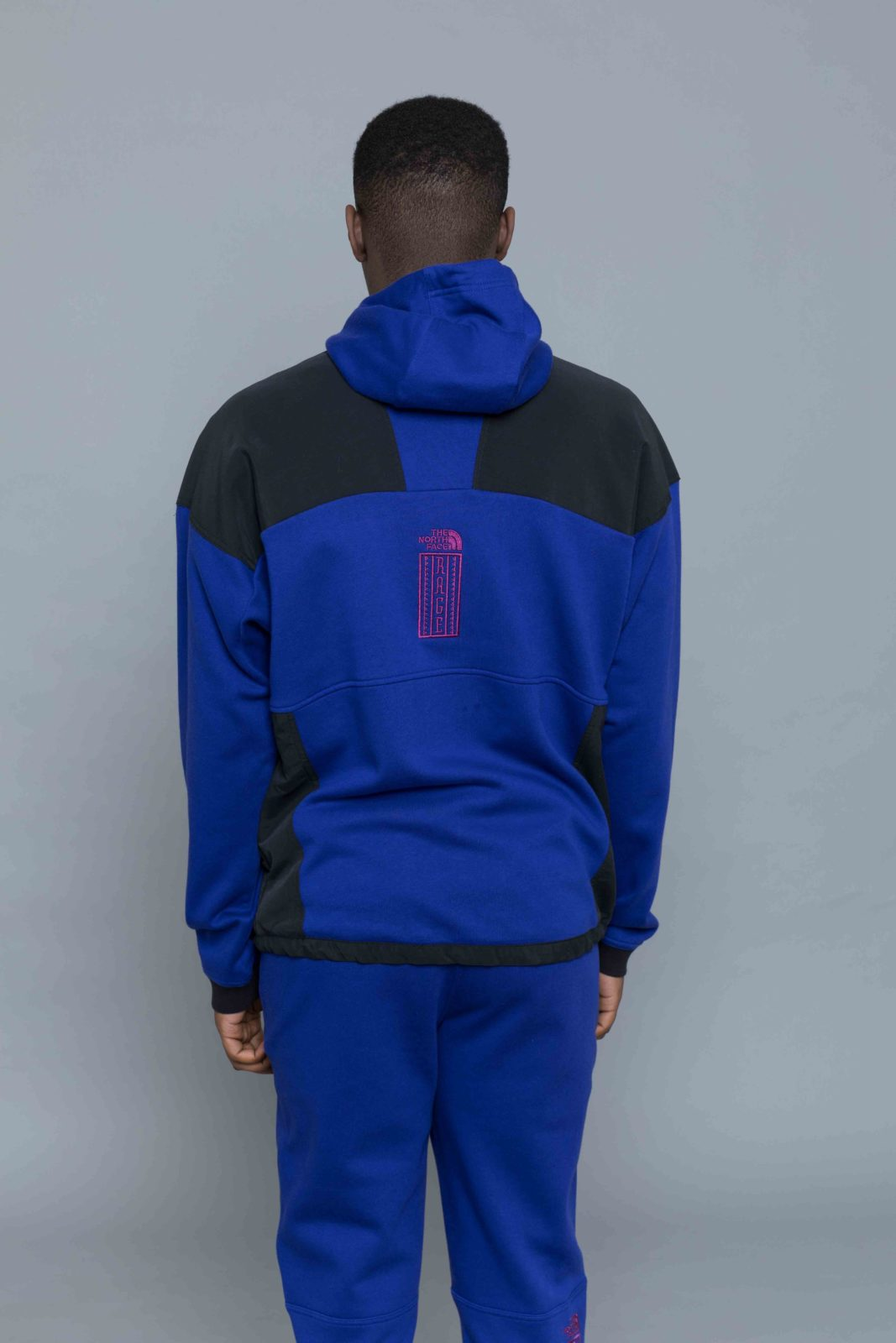 2bedc992ac9 The North Face 92 Rage Fleece Hoody Aztec Blue • Centreville Store