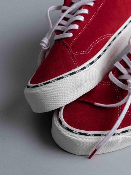 Vans Diamo New Issue Tango Red slip on