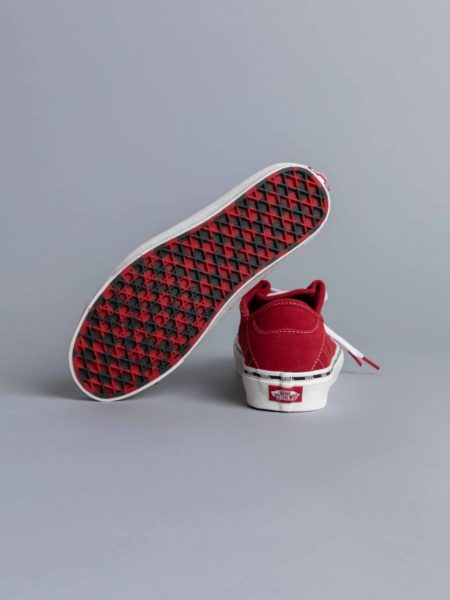 Vans Diamo New Issue Tango Red white