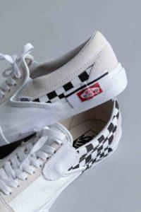 Vans Slip-on Cap LX White Checkerboard