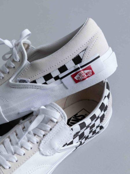 Vans Slip-on Cap LX White Checkerboard brussels
