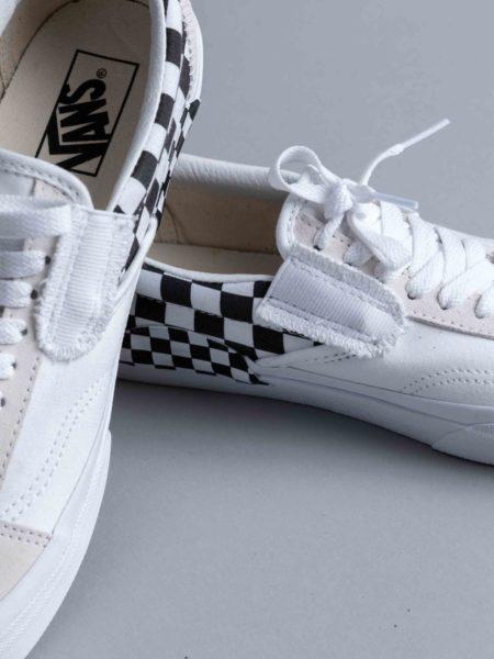 Vans Slip-on Cap LX White Checkerboard oldskool