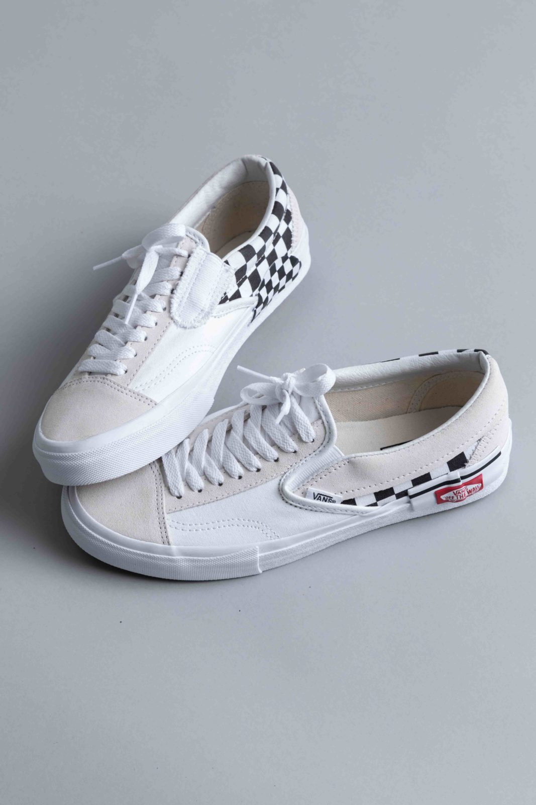 2650bb5fbb070 Vans Slip-On Cap LX White Checkerboard • Centreville Store in Brussels